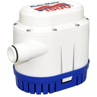 Rule 53260M RULE MATE 1500 GPH BILGE PUMP 12V