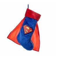 "DC Comics Superman with Cape Applique 19"" Stocking"