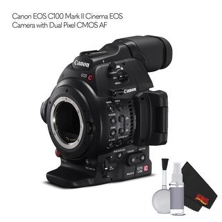 Canon EOS C100 Mark II Cinema EOS Camera  with Dual Pixel CMOS AF Bundle