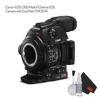 Canon EOS C100 Mark II Cinema EOS Camera with Dual Pixel CMOS AF Bundle