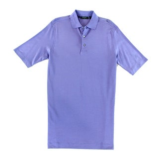 Bobby Jones NEW Purple Mens Size Small S Short Sleeve Polo Rugby Shirt