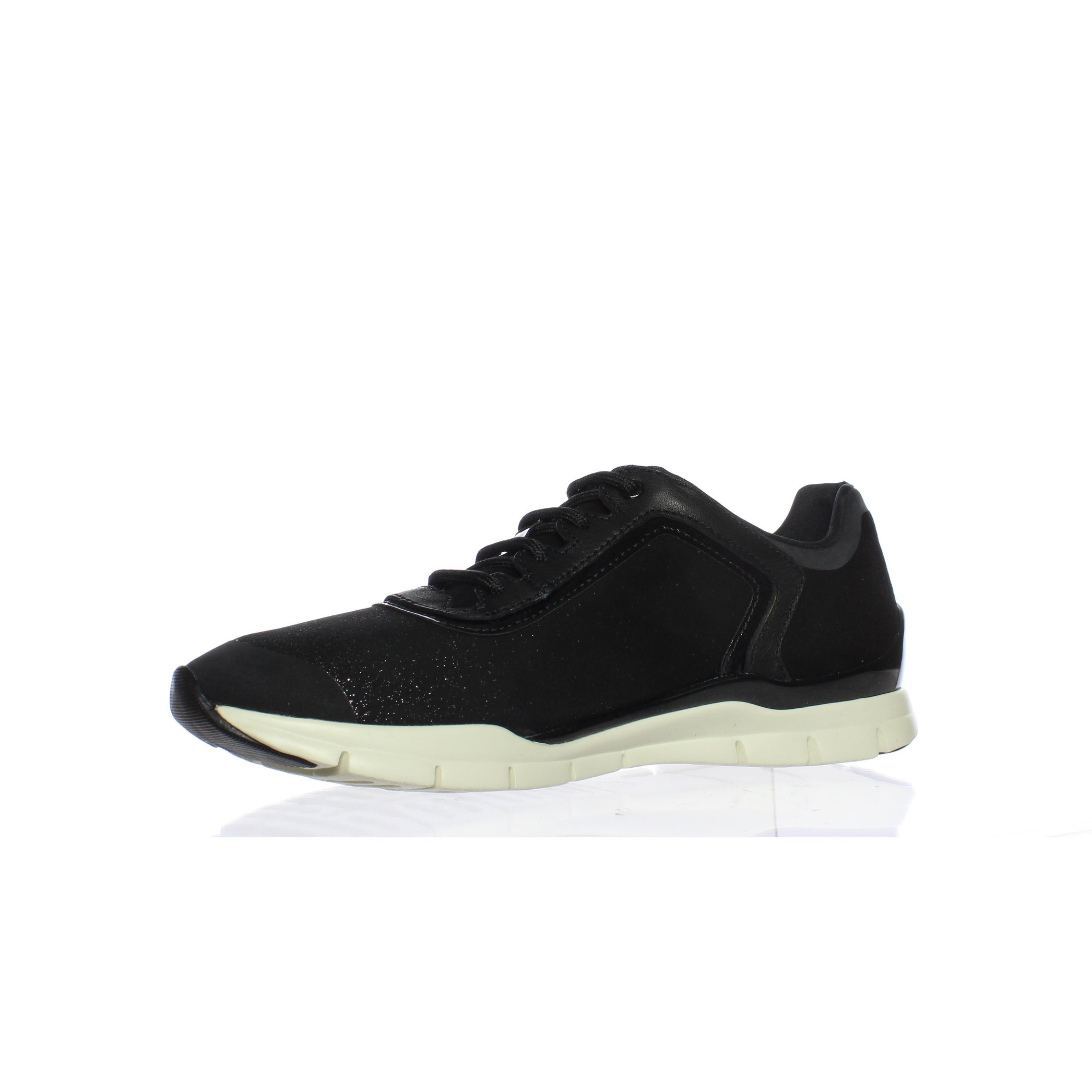 Shop Geox Womens Sukie Black Fashion Sneaker Size 10.5 On