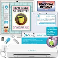 Silhouette Cameo 3 Machine Bundle Sewing Designer Edition + Upgrade Blade Pixmat