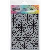 "Dyan Reaveley's Dylusions Stencils 5""X8""-Snowflake"