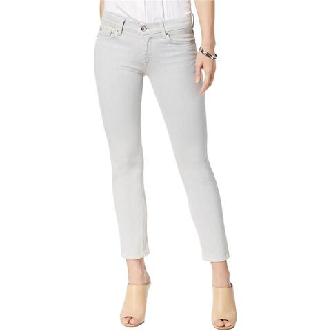 Hudson Womens Tally Midrise Skinny Fit Jeans, Pink, 24