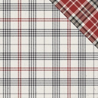 "Mad 4 Plaid Tailored Double-Sided Cardstock 12""X12""-Tailored Tattersall"
