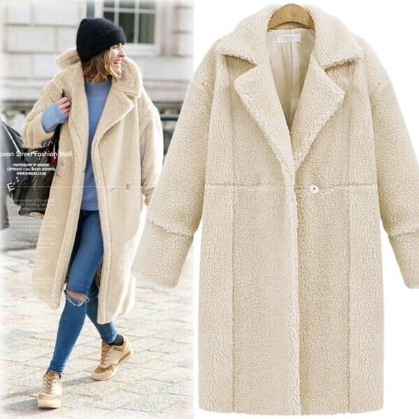 Women's Woolen Winter Coat