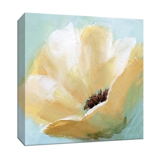 """PTM Images 9-147882  PTM Canvas Collection 12"""" x 12"""" - """"Soft Sunday IV"""" Giclee Flowers Art Print on Canvas"""