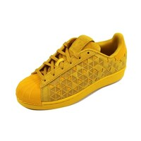 best loved a550c a7cf8 Adidas Grade-School Superstar J GoldGold AQ8187 Size 4.5Y