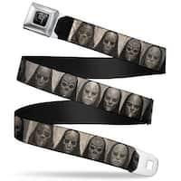 Harry Potter Logo Full Color Black White Harry Potter Death Eater Masks Seatbelt Belt