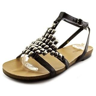 Vaneli Belgin Open Toe Leather Gladiator Sandal