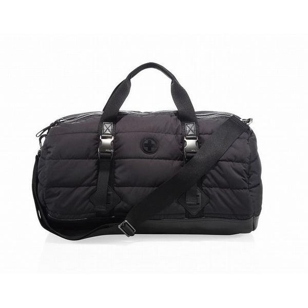 Shop Polo Ralph Lauren NEW Black Mountain Nylon Zip Top Men s Duffle ... e322968ba04f0