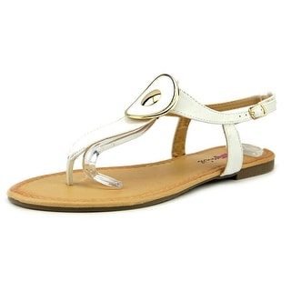 Dollymix Nile-02 Women Open Toe Synthetic Thong Sandal