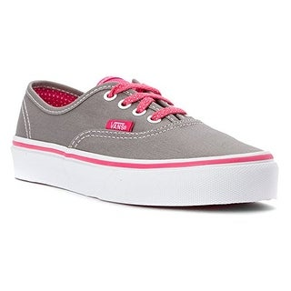 Vans Baby Girls V (Inf/Tod) - (Polka Dots) Gray/Hot Pink - 4.5 Infant