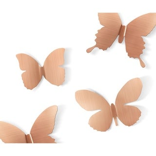 Umbra 470789  Set of Nine Mariposa Steel Wall Decals by Marion Lanktree