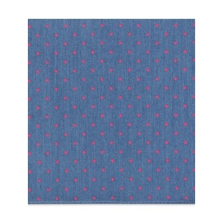 Tommy Hilfiger Mens Pocket Square Dot Pattern Woven - o/s