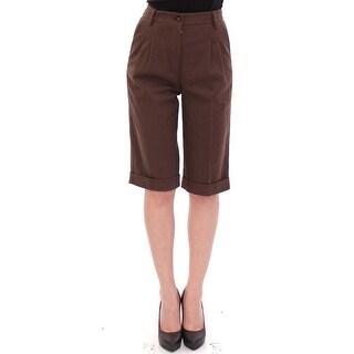 Dolce & Gabbana Brown cotton shorts pants