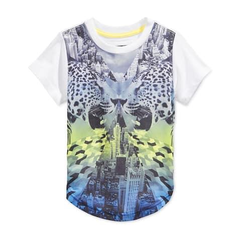 Sean John Boys Mirror Ss Graphic T-Shirt
