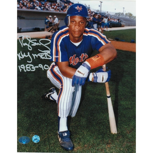 reputable site 361d3 409e4 Darryl Strawberry New York Mets Autographed 8x10 Photo Inscribed
