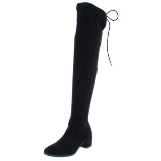 Link to Chinese Laundry Womens Mystical Over-The-Knee Boots Faux Suede Riding Similar Items in Women's Shoes