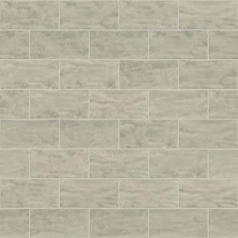 "Shaw CS01W Geoscape - 3"" x 6"" Rectangle Subway Mosaic Wall Tile - Tile"