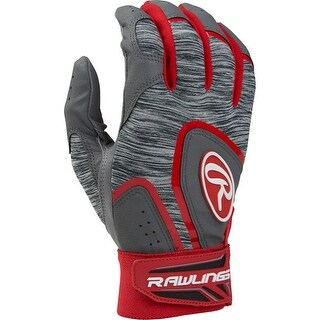Rawlings Youth 5150 Batting Gloves (Scarlet/Medium)
