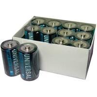 Upg D5325/D5925 Super Heavy-Duty Battery Value Box (D; 12 Pk)