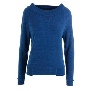 Alternative Womens Knit Heathered Pullover Sweater - M