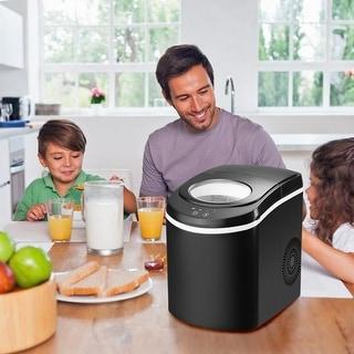 Ainfox Portable Ice Maker Machine  26 lbs of Ice per 24 hours