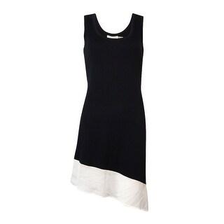 Calvin Klein Women's Asymmetrical Crepe-Hem Jersey Cover-Up