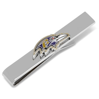 Baltimore Ravens Head Tie Bar - Silver