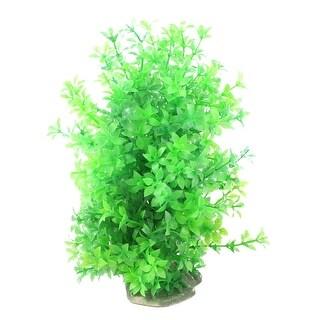 Aquarium Fish Tank Plastic Emulational Underwater Grass Plant Decoration Green