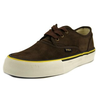 Polo Ralph Lauren Morray-Sk-Vlc Round Toe Leather Sneakers