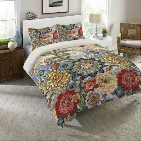 Boho Bouquet Queen Comforter