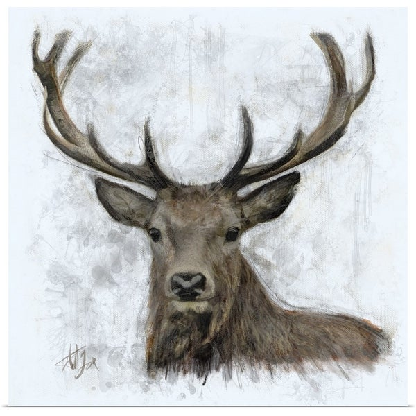 """""""Stag"""" Poster Print"""