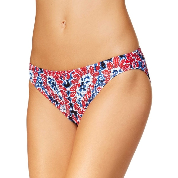 c49e02b98db Shop Michael Kors Paisley Classic Bikini Bottom X-Small Red Womens Swimsuit  - Free Shipping On Orders Over $45 - Overstock - 28279264