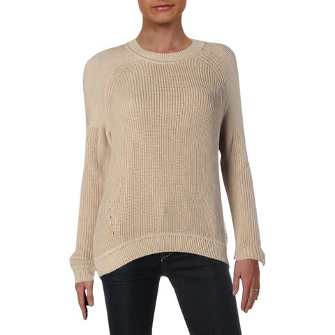Vince Womens Pullover Sweater Cable Knit Open Stitch - XS