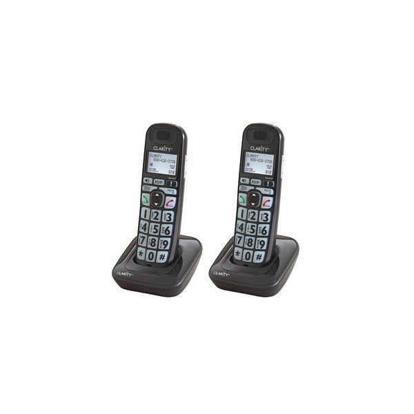 Clarity E814HS 1.9GHz DECT 6.0 Cordless Caller ID Telephone Handset (2 Pack) New