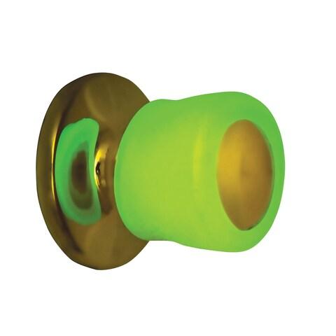 LCM Direct Glow in the Dark Door Knob Covers, Soft Antibacterial Gel - Set of 2 - 2.75 in. x 2.75 in. x 2.75 in.