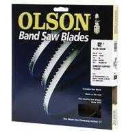 """Olson Saw 12582 Hard Edge Flex Back Band Saw Blade, 82"""" x 1/4"""""""