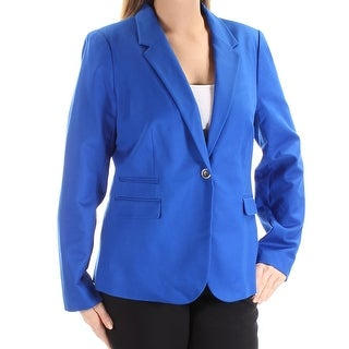 VINCE CAMUTO $150 Womens New 1477 Blue Blazer Wear To Work Jacket 14 B+B