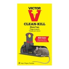 Victor M162S Clean Kill Mouse Tunnel Trap, 2 Per Pack