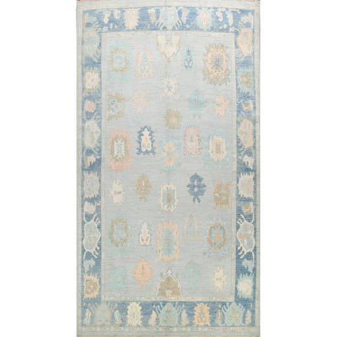 "Vegetable Dye Geometric Khotan Oriental Area Rug Wool Handmade Carpet - 9'8"" x 14'1"""