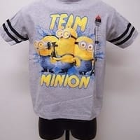 "Despicable Me ""Team Minion"" Minions Youth Size 14/16 Xl Xlarge Shirt 69Oo"