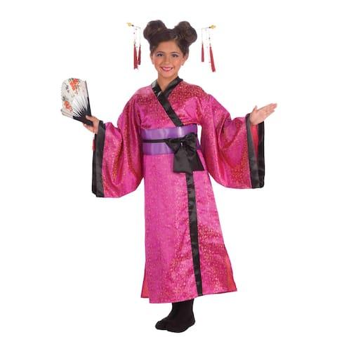 Forum Novelties Japanese Princess Child Costume (Large) - Pink - Large