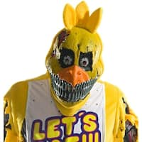 Five Nights At Freddy's Nightmare Chica Costume Mask - Yellow