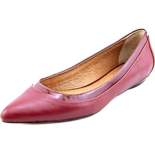 Corso Como Mirage Pointed Toe Leather Flats