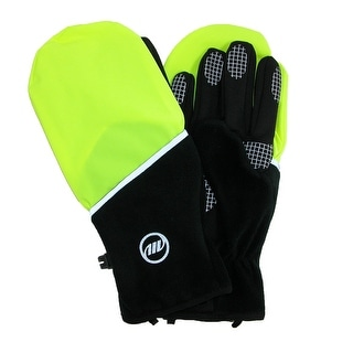 Manzella Men's Hatchback Convertible Wind Resistant Running Glove