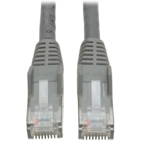 Tripp Lite - 15Ft Cat6 Gigabit Snagless Molded Patch Cable Rj45 M/M Gray