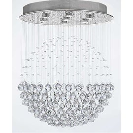 Modern Contemporary *Rain Drop* Chandelier Lighting